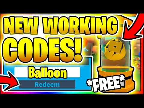 Roblox Balloon Simulator Codes July 2020