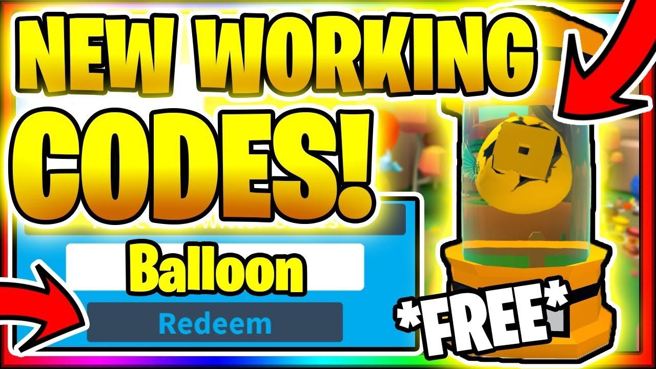 Balloon Simulator 1 2 Codes Roblox July 2020 Mejoress
