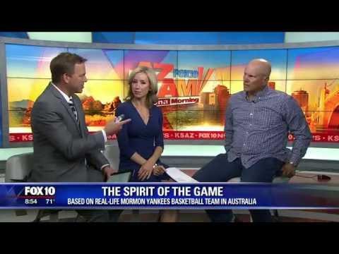 Fox 10 Phoenix Interviews Jeff Skousen - SPIRIT OF THE GAME - Mormon Yankees Movie