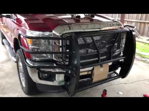 Frontier Grille Guard Install on '16 F250