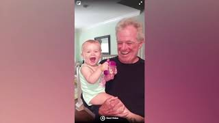 Funny Baby Makes Strange Things   Funny Baby Videos