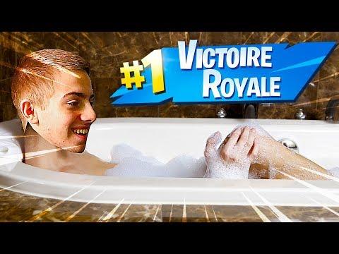 Petit Top 1 Fortnite Histoire De Se Remettre Dans Le Bain !