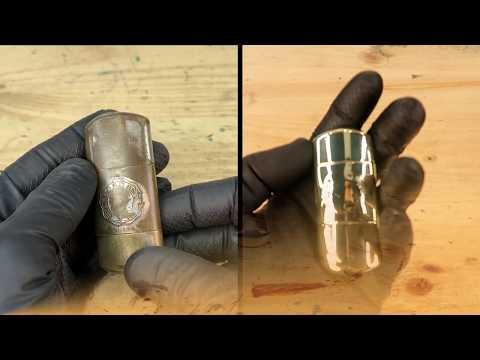 Dented old Lighter Restoration