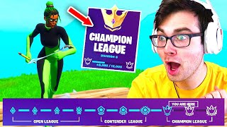 I got in CHAMPION LEAGUE in ONE NIGHT in Fortnite Season 6... (Fortnite Competitive)