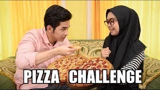 PIZZA CHALLENGE! GA KUAT MAU MUNTAH!!!!!! w/ ADIT