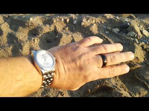 Платежное кольцо МКБ после заплыва в Средиземном море