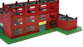 Girder And Panel School Building Set