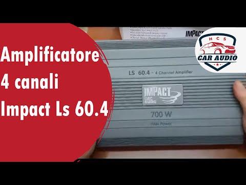 Amplificatore 4 canali