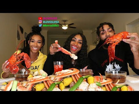 Seafood Boil with Keesha Kaylee and Jeremy