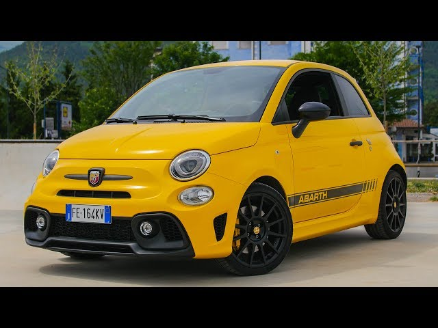Abarth 595 Competizione - Davide Cironi Drive Experience (ENG.SUBS)