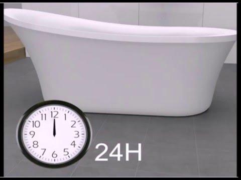 clawfoot tub drain hookup