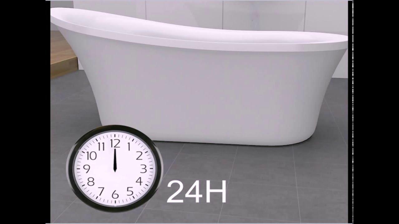Installation Guidelines For OVE Freestanding Bathtub Series (Model: Rachel)  V02