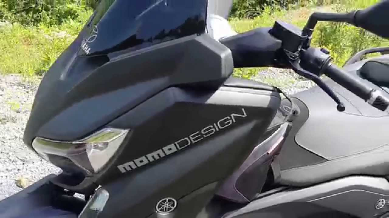 yamaha xmax 400 momo design custom turkey 2014