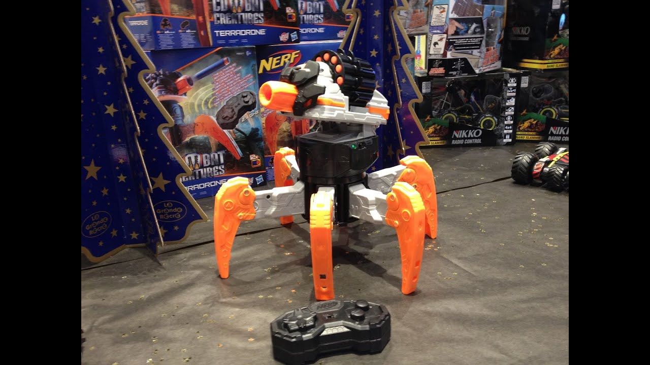 H And H Tire >> NERF TERRADRONE Hasbro - YouTube