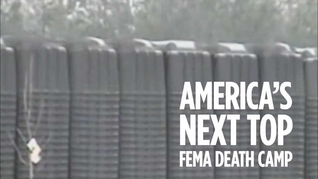 What is a fema death camp