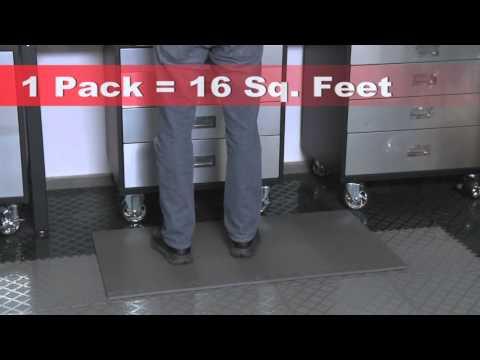 Norsk Flooring - Solid Foam Mats Foam Flooring