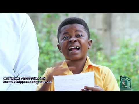 Amankwah reads his Manifesto for Boys Prefect