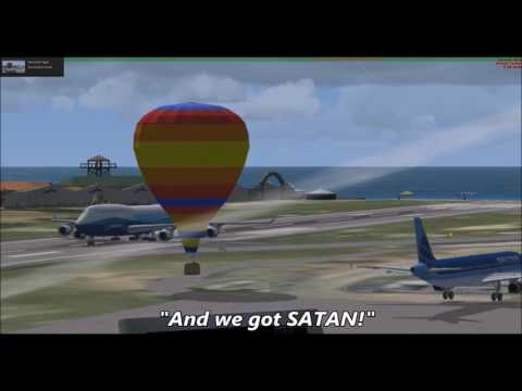 funny moments on flight simulator x |