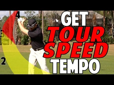 How to Get Tour Tempo | Easy Drill For Smooth Swing