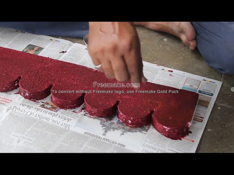 Download THERMOCOL DECORATION AT HOME EASY