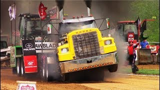 Tractor/Semi Pulls! 2018 Watson Diesel Michigan Nationals! PPL Session 3