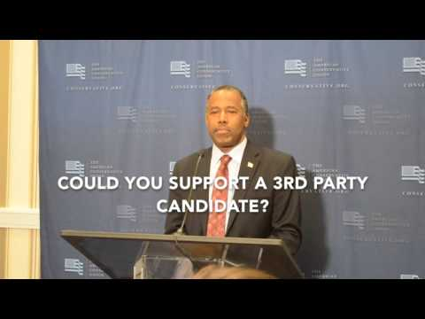 Ben Carson Answers Questions After He Suspends Presidential Campaign | TheBlaze