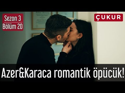 Çukur 3.Sezon 20.Bölüm - Azer&Karaca Romantik Öpücük!