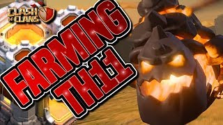 FARMING TH11 USING LALOON - LAVALOON | FINDING TH11 LOOT | Clash of Clans