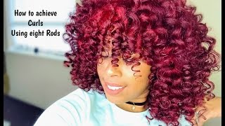 How to achieve curls using only eight perm rodsperm rod cheat