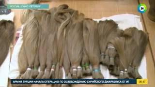 Роскошная грива: как делают парики(, 2016-08-24T10:48:56.000Z)