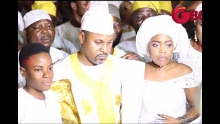 The Majestic Entry From Saheed Balogun amp His Two Adorable Kids as King Waisu Ayinde Ushers Them In