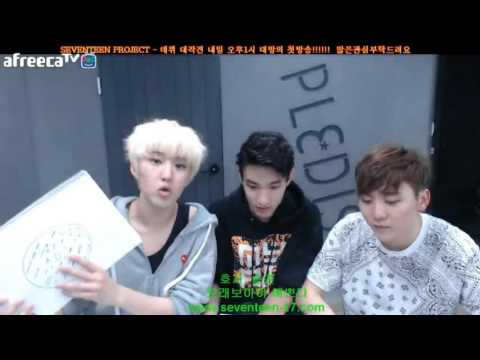 [ENG] 150501 Hoshi & Seungkwan's Andromeda (with DK, S. Coups, Vernon and The8) 1/2
