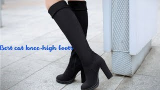 Best cat knee high boots in Aliexpress | cat knee-high boots review
