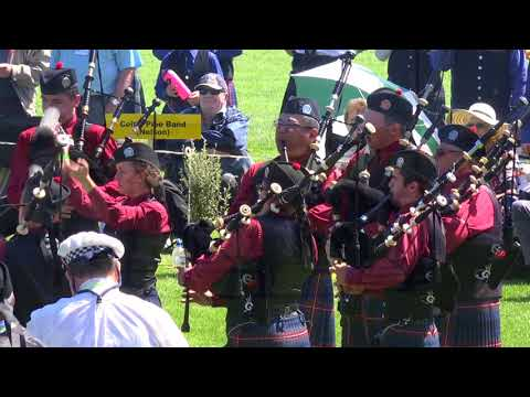 NZ Pipe Band Championships 2018 - Grade 1 & 2