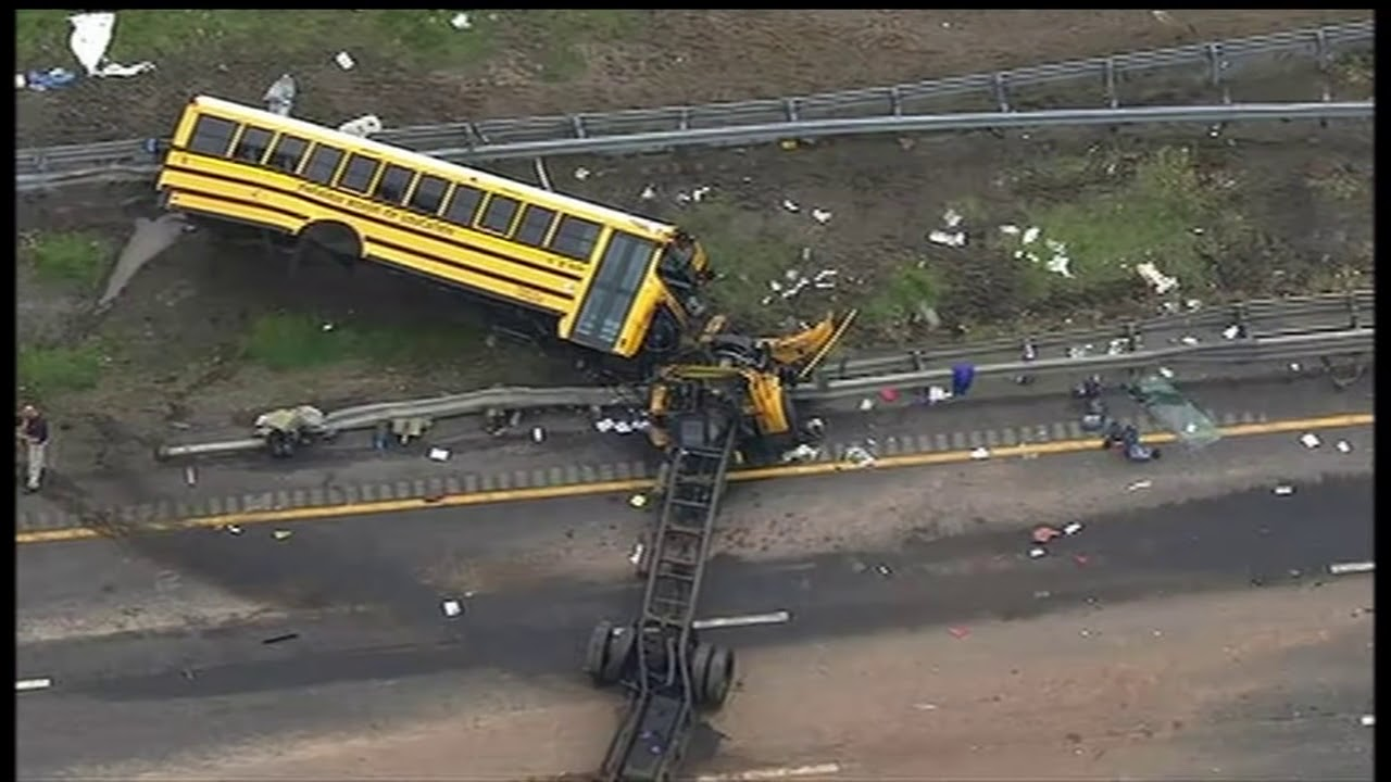 School bus driver in N J  made U-turn before deadly crash