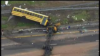 Video Chopper video: Fatal school bus crash in Mount Olive Twp., New Jersey download MP3, 3GP, MP4, WEBM, AVI, FLV Mei 2018