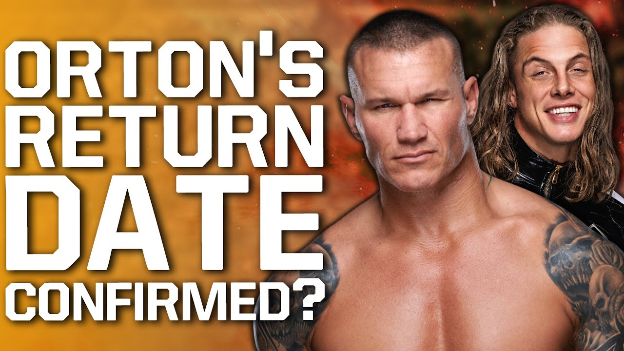 """Randy Orton WWE Return Date Confirmed? 