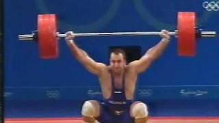 94kg class 2000 Olympics snatch part 3