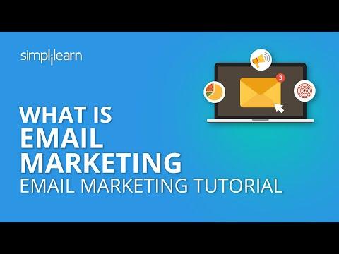What Is Email Marketing | Email Marketing Tutorial | Digital Marketing Turtorial | Simplilearn