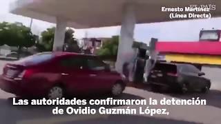 HIJO CHAPO GUZMAN OVIDIO GUZMAN OPERATIVO FALLIDO, CULIACAN BALACERA NARCO BLOQUEOS