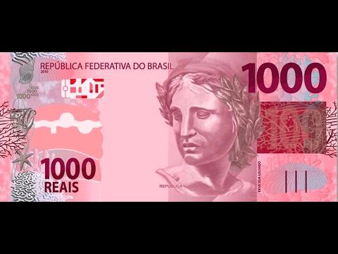 VEJAM A NOVA CÉDULA DE 1000 REAIS