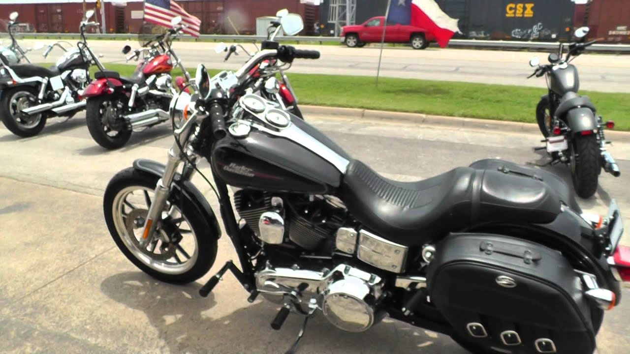 Motorcycles For Sale In Texas ... Harley Davidson Dyna Low Rider - Used Motorcycle For Sale - YouTube