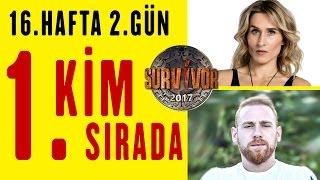 SURVIVOR 2017 PUAN DURUMU 16. HAFTA 2. GÜN   HD