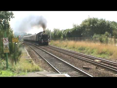 A selection of Great Western locomotives from 2009