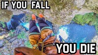 CRAZY CLIFF JUMP - OREGON, USA (4k)