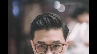 HƯỚNG DẪN TẠO KIỂU TÓC MODERN POMPADOUR - HAIR ZONE X MISTER BARBERSHOP