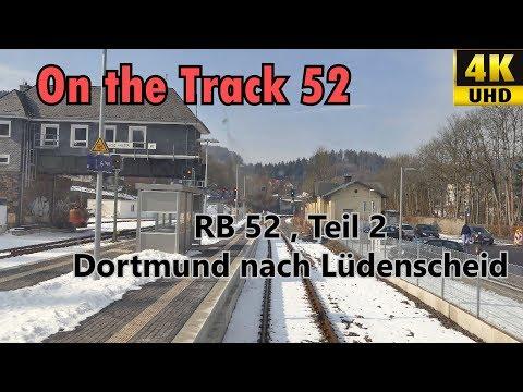 RB 52 Dortmund-Lüdenscheid Teil 2, OTon, 4K