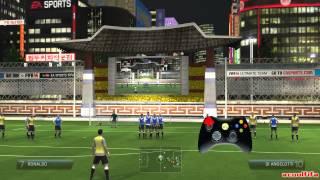 Как бить штрафные в FIFA 14