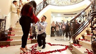 SURPRISE MARRIAGE PROPOSAL! Our 5 Year Love Story ♥ by : Karina Garcia