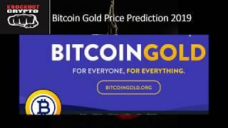 Bitcoin Gold Price Prediction 2019